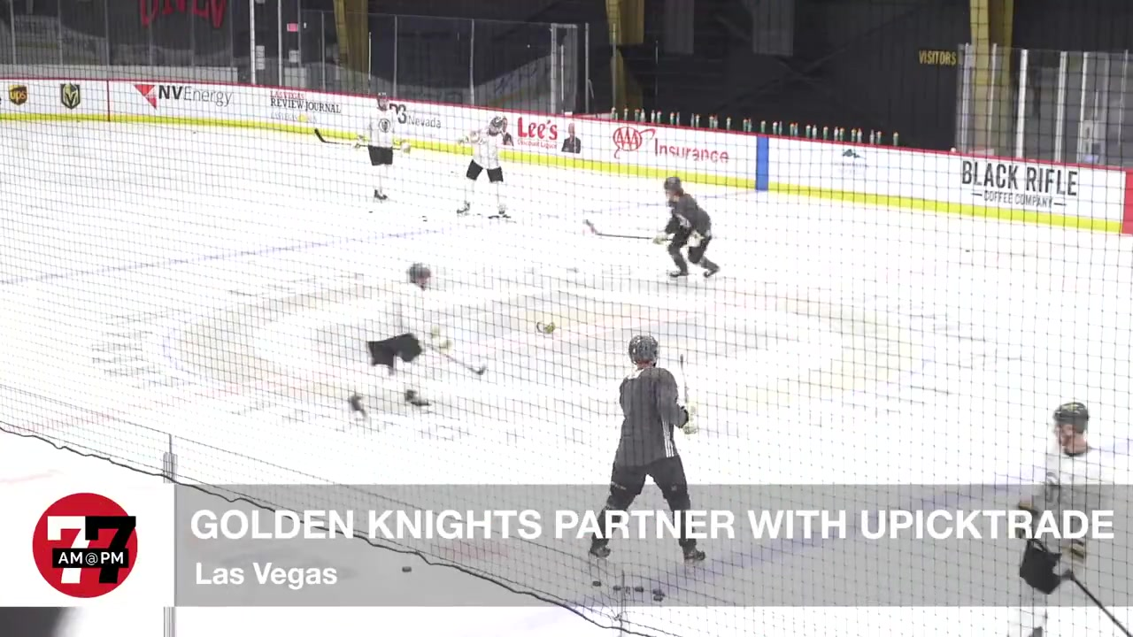 7@7PM Golden Knights Partner with Upicktrade