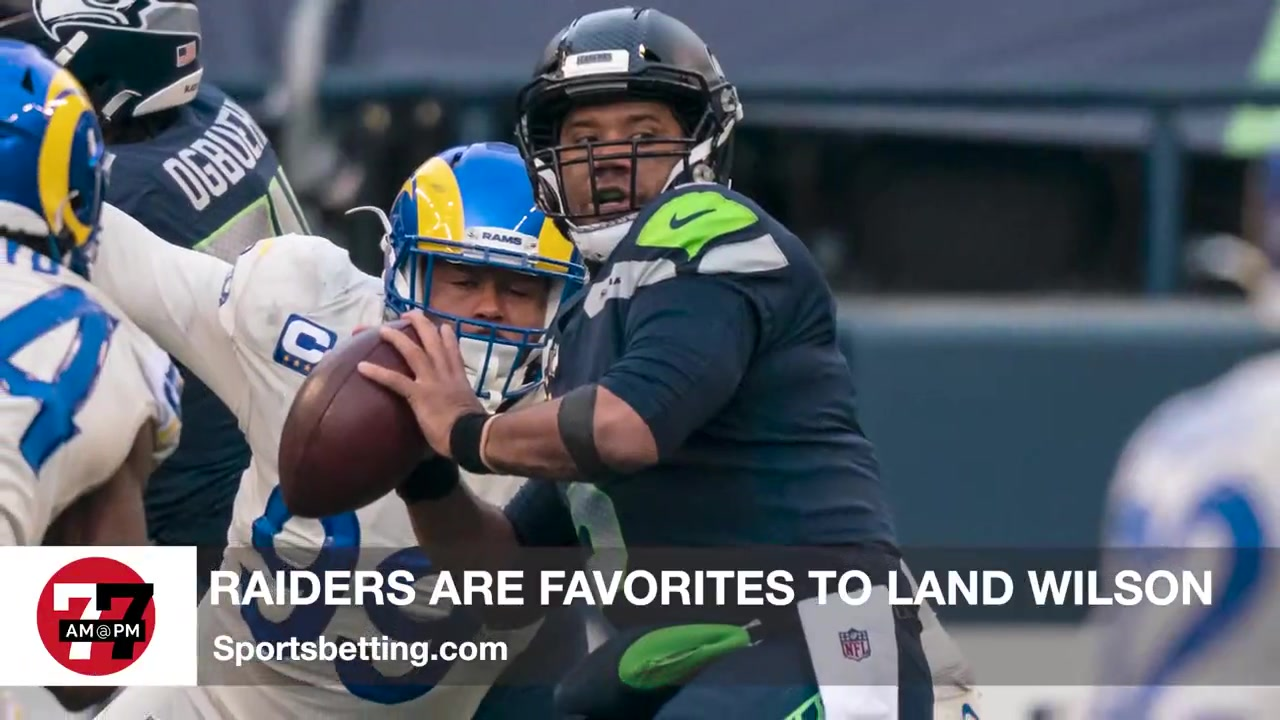 7@7PM Raiders Are Favorites to Land Russel Wilson