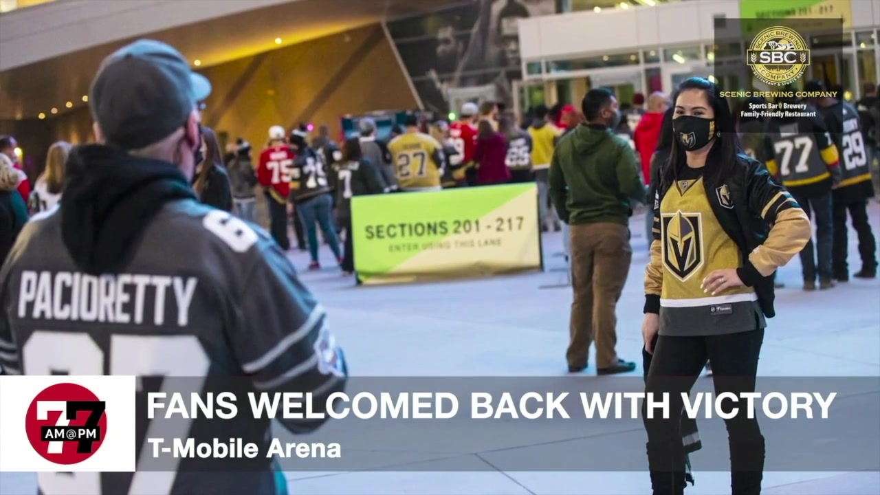 7@7AM Knights Fans Welcomed Back With Victory