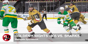 7@7AM Knights Favored Over Sharks