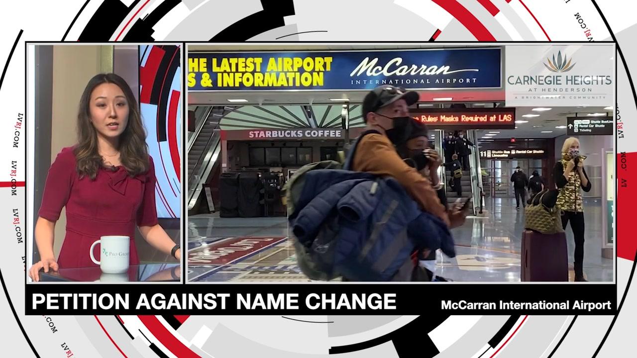 7@7PM McCarran Name Change Petition