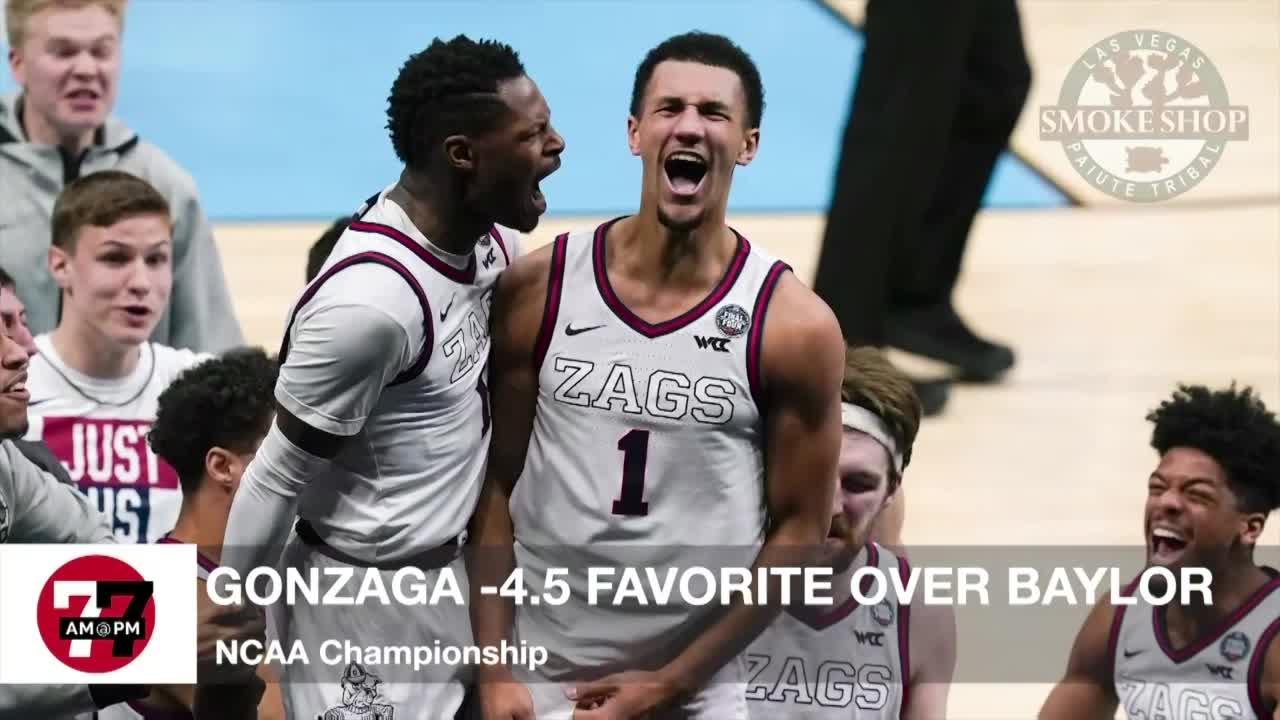 7@7AM Gonzaga -4.5 Favorite Over Baylor