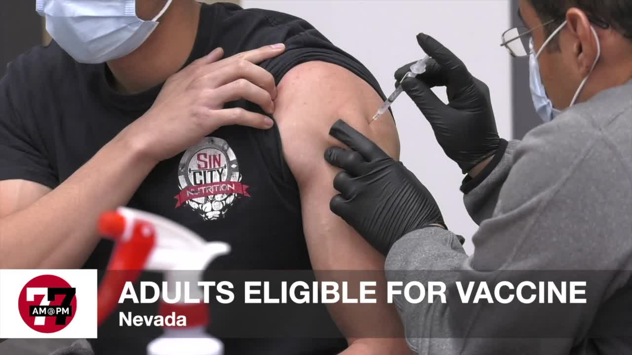 7@7AM Adults Eligible For Vaccine