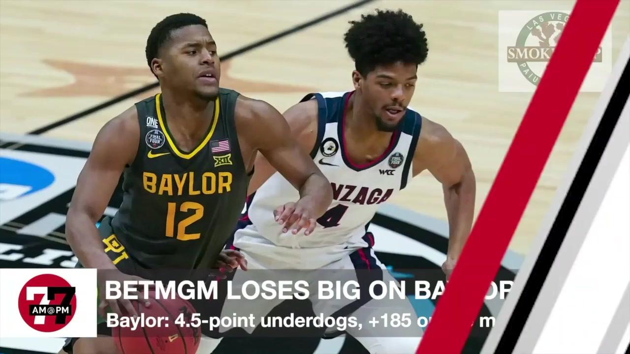 7@7AM BETMGM Loses Big On Baylor's Win