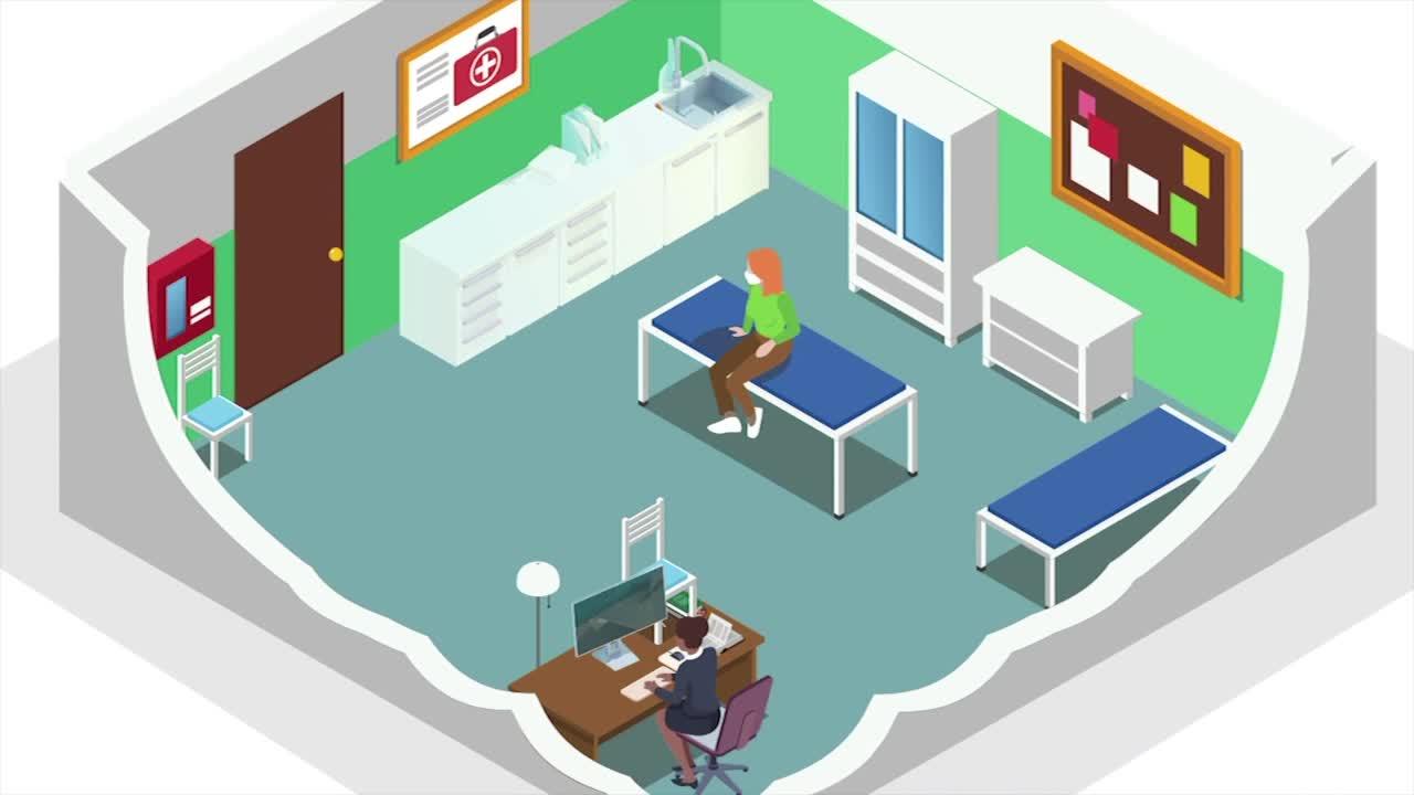 7@7AM School Sick Rooms