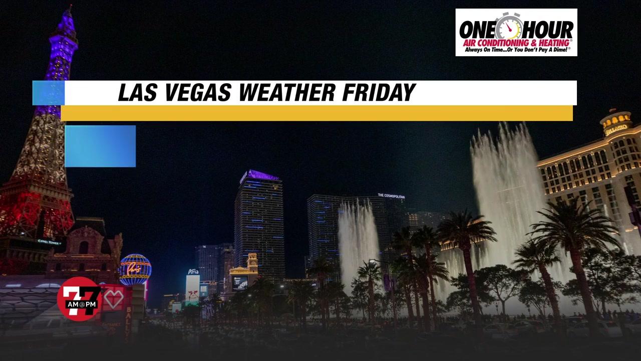 7@7PM Las Vegas Weekend Weather