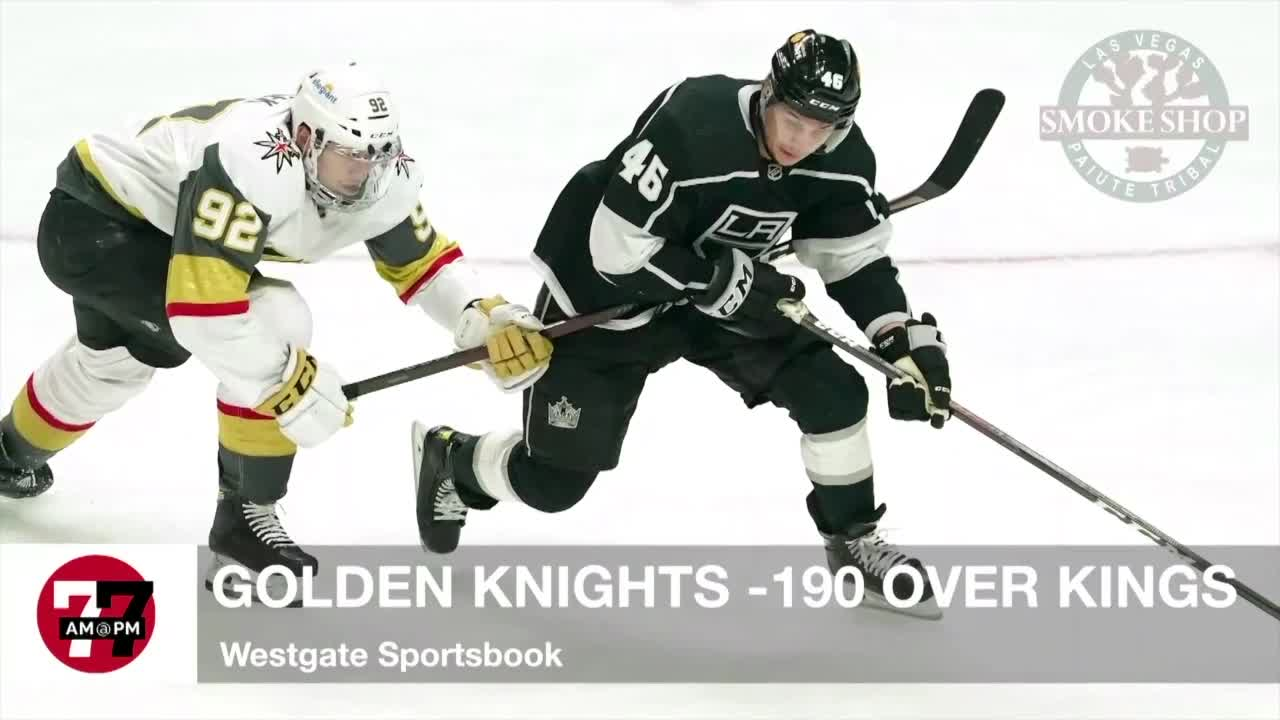 7@7AM Golden Knights -190 Over Kings