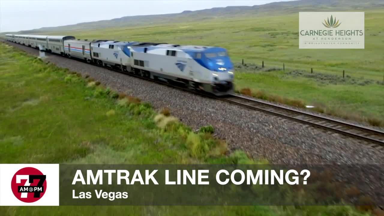 7@7AM Amtrak Line Coming?