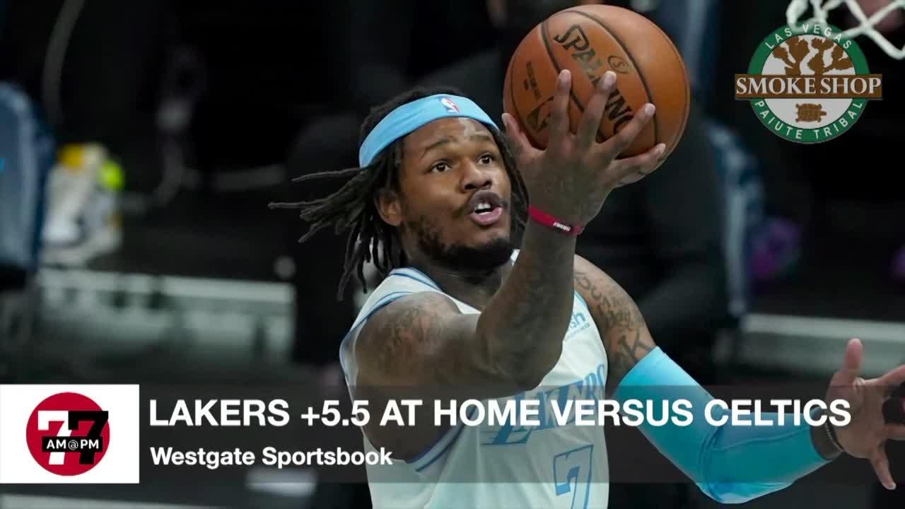7@7AM Lakers +5.5 Against Celtics
