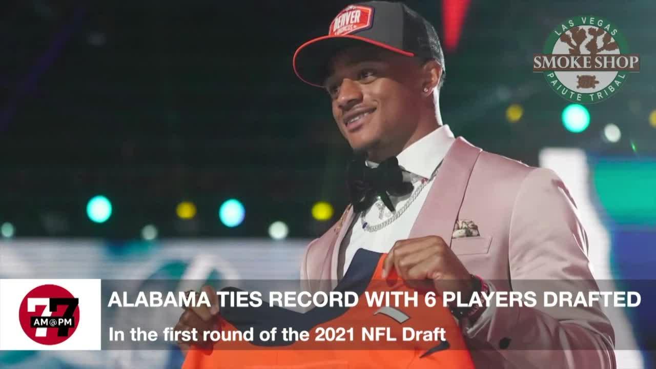 7@7AM Alabama Ties Draft Record