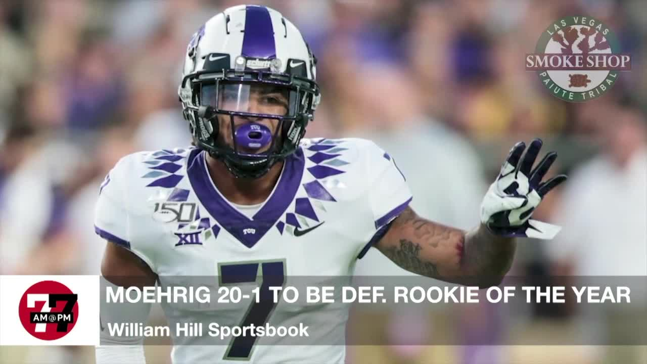 Moehrig 20-1 for Defensive Rookie of the Year