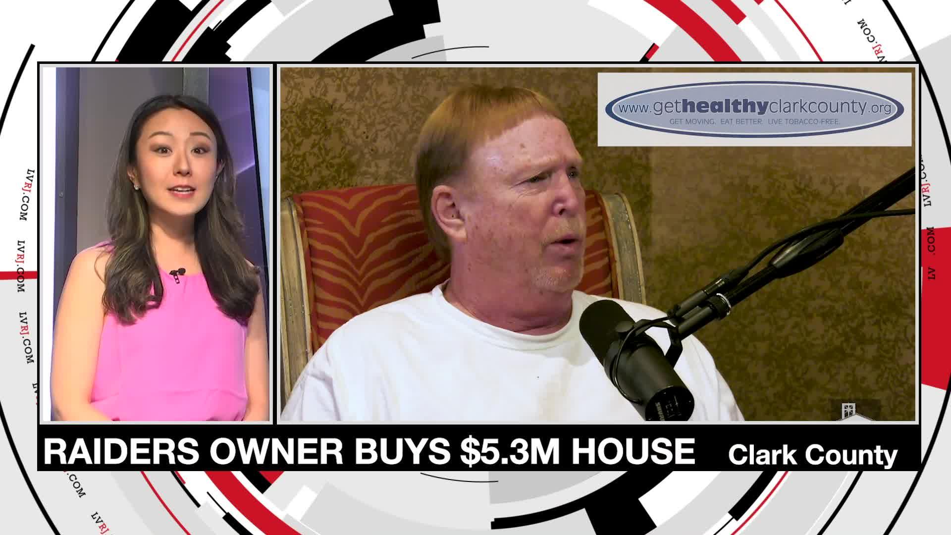 7@7PM Raiders Owner Mark Davis Buys $5.3M House