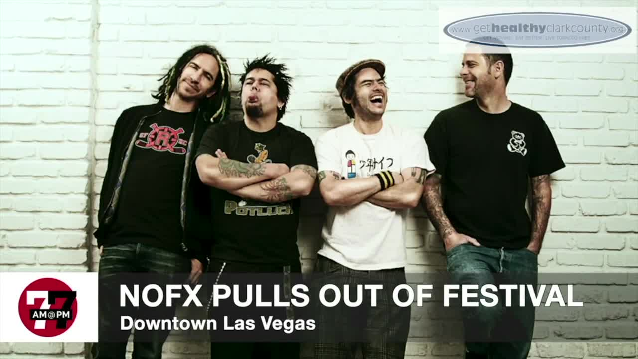 7@7AM NOFX Pulls out of Festival