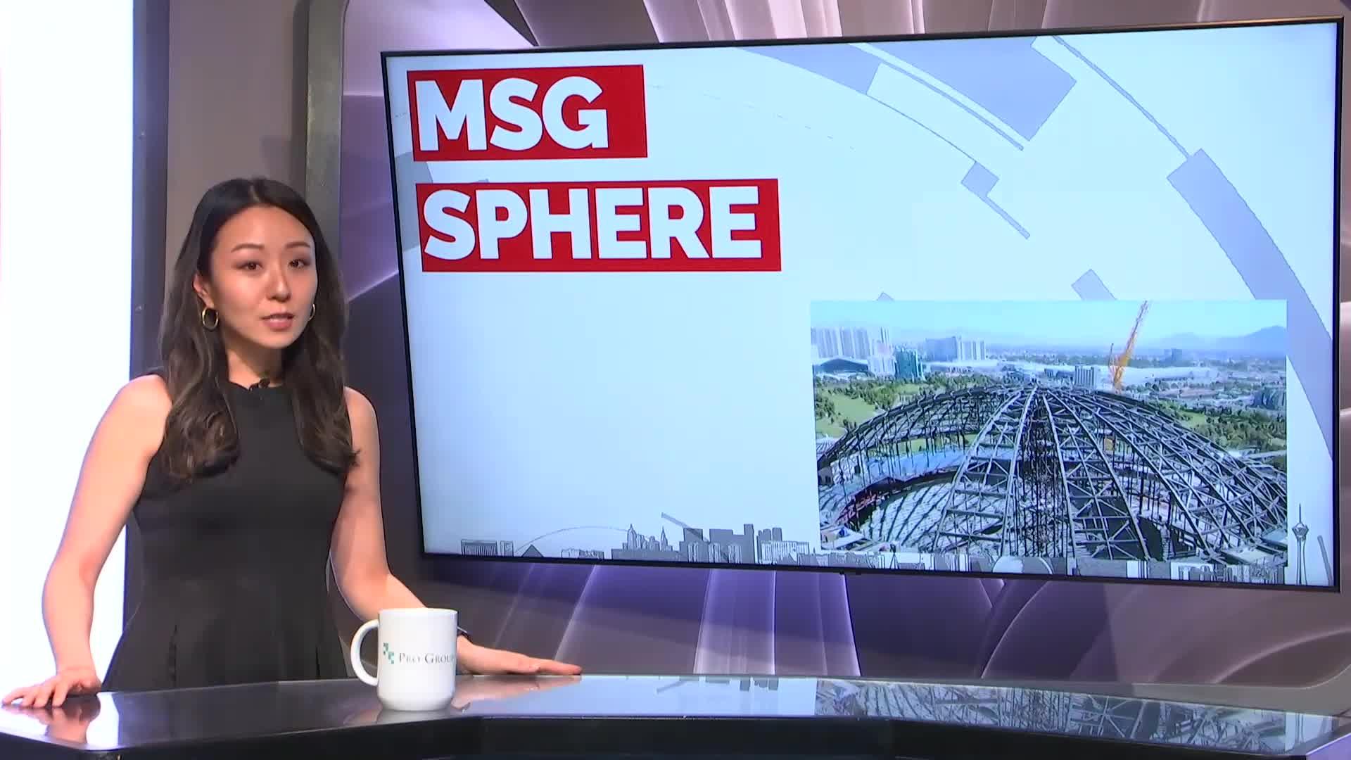 7@7PM MSG Sphere Makes Progress