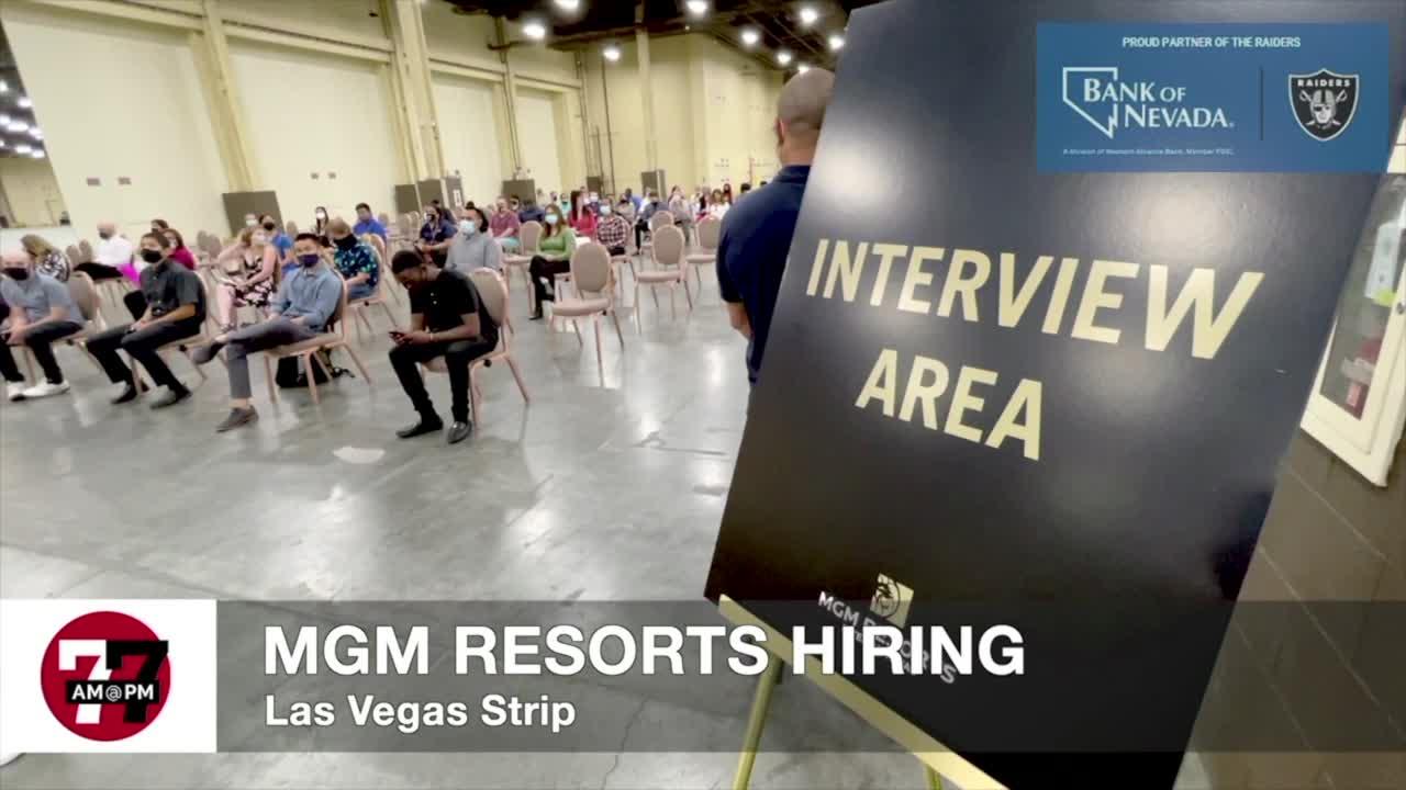 7@7AM MGM Resorts Hiring