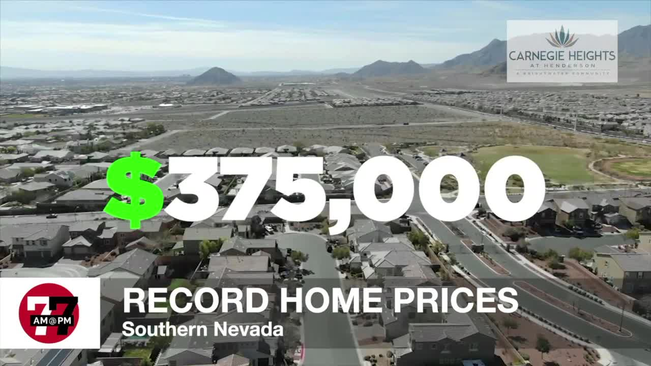 7@7AM Record Home Prices