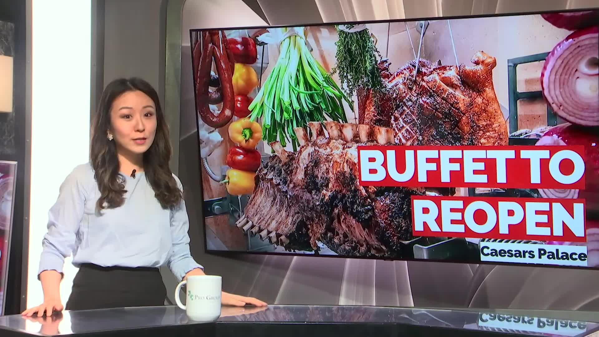 7@7PM Buffet Set to Reopen at Caesars Palace