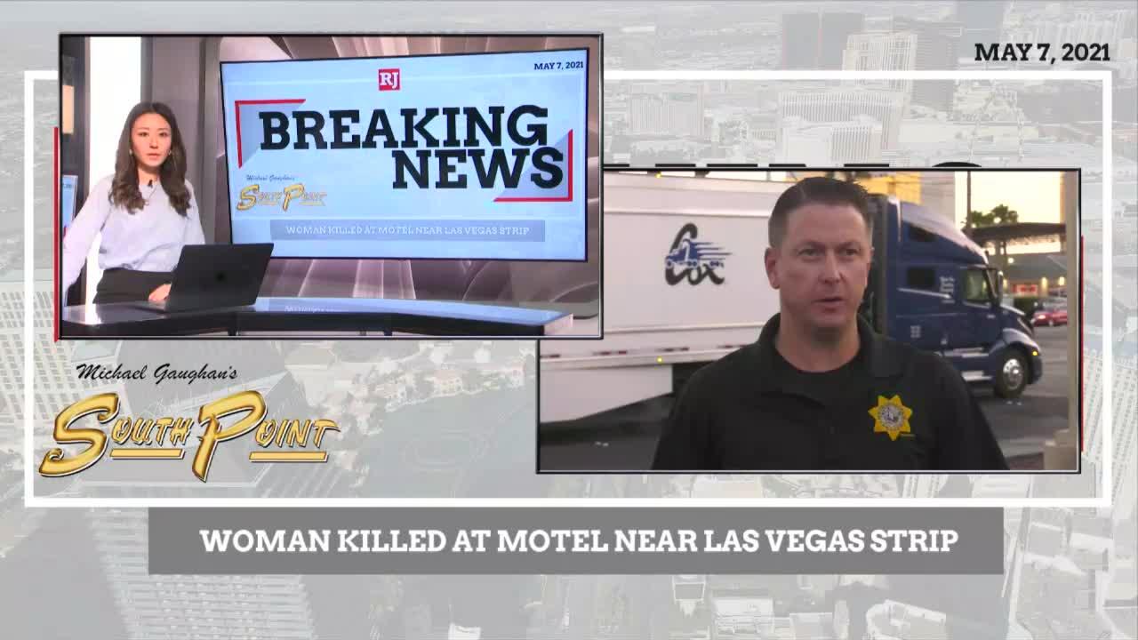 Woman killed at motel near Las Vegas Strip