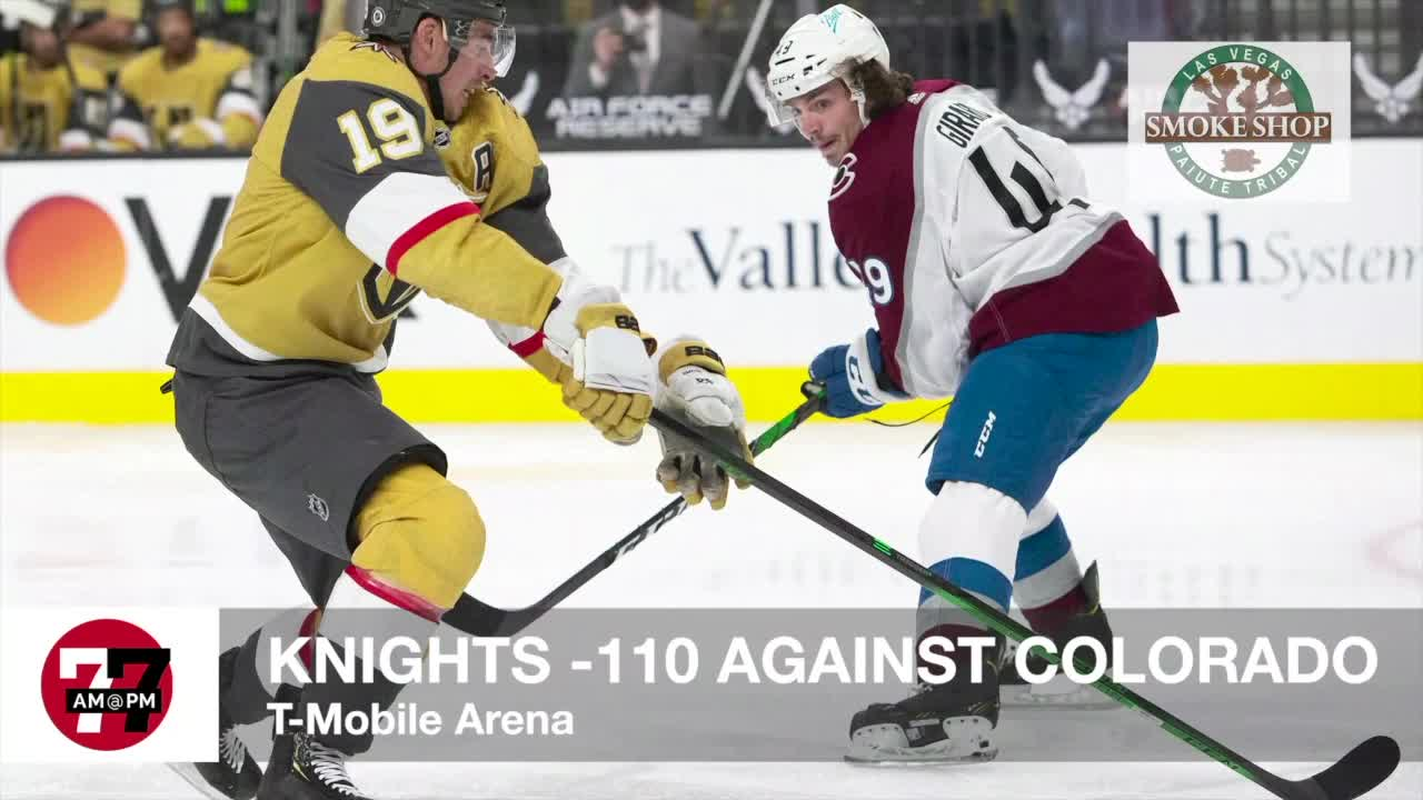 7@7AM Knights -110 Against Colorado