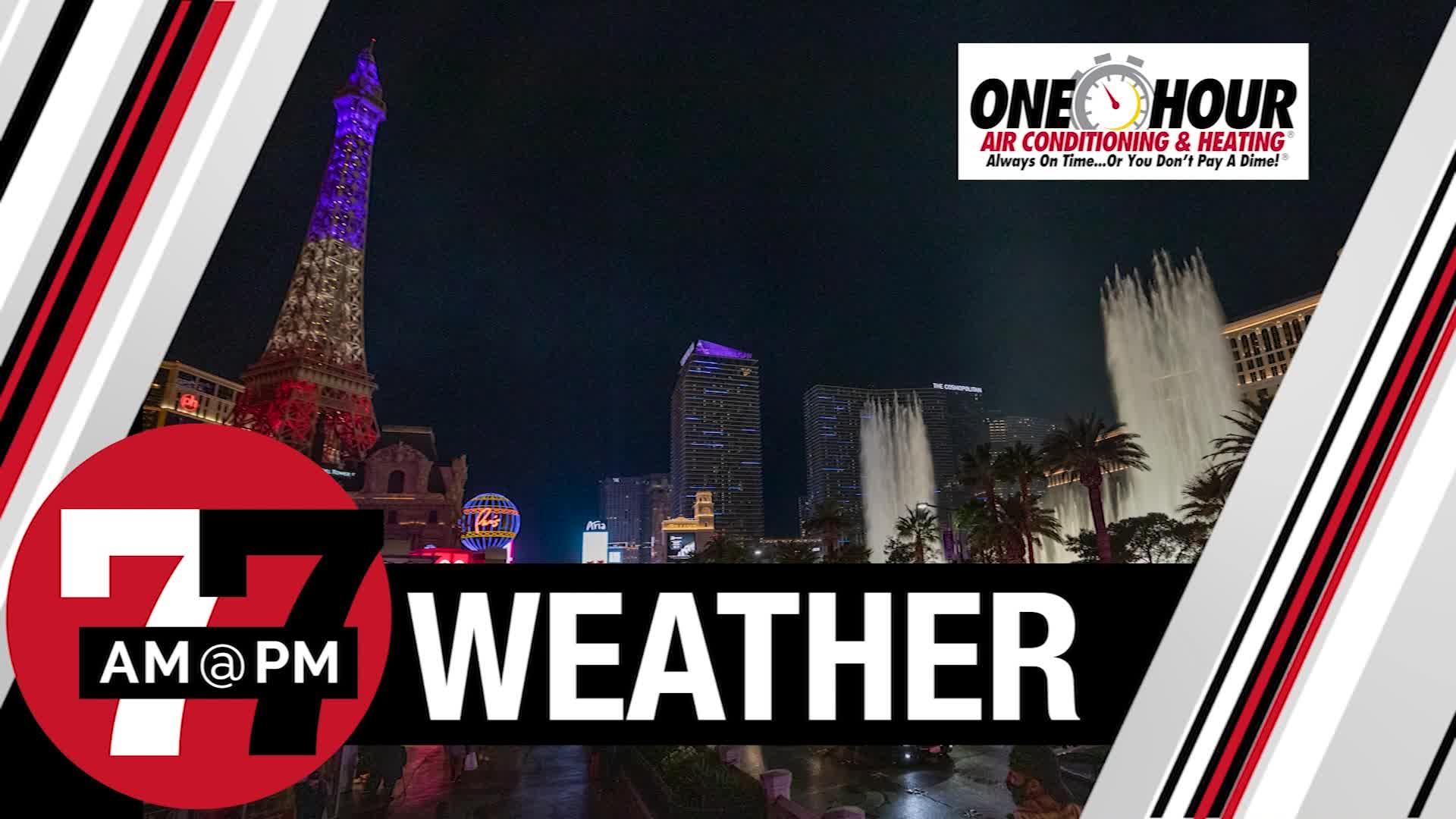 7@7PM Las Vegas Weather
