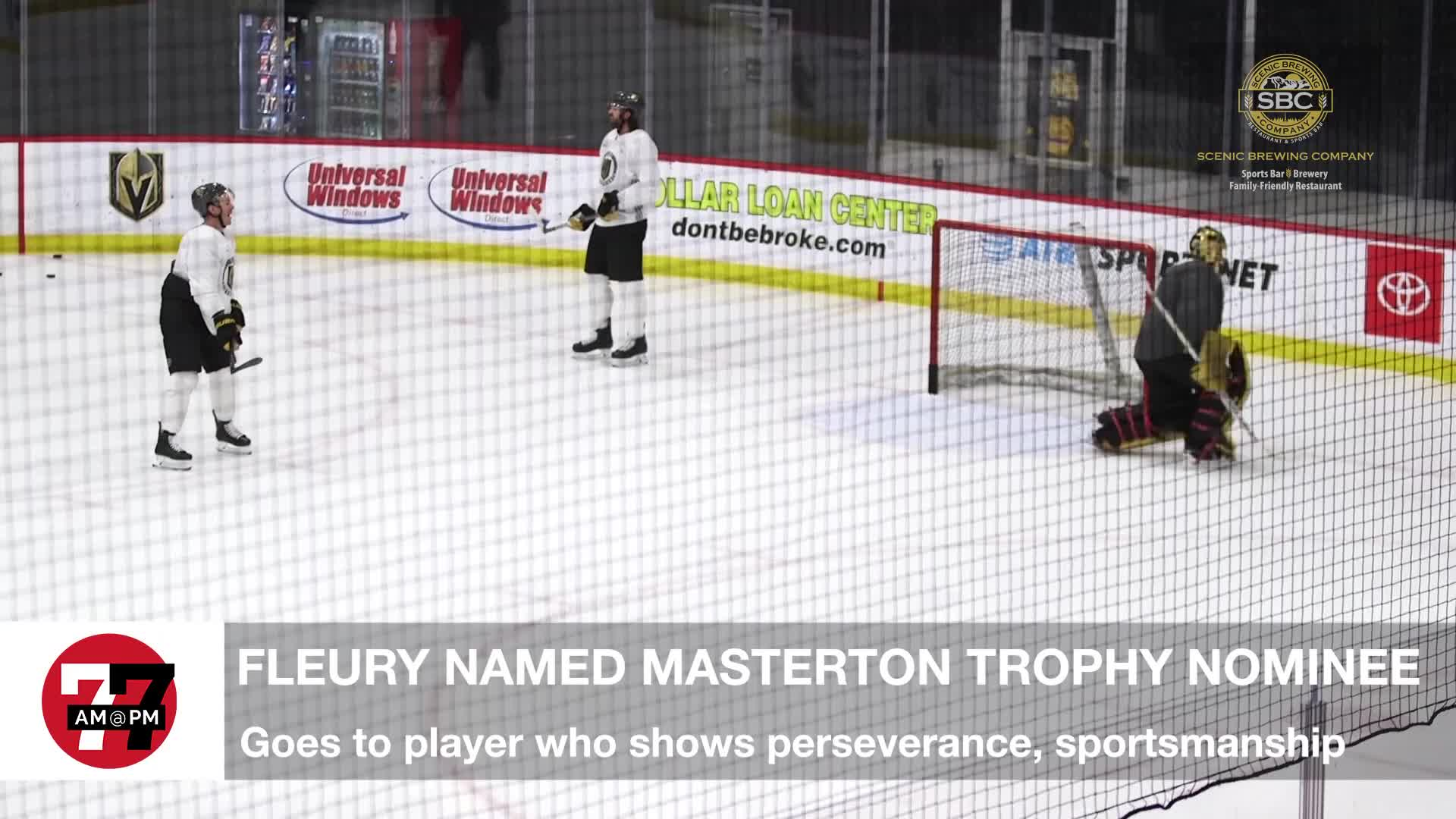 7@7PM Fleury Named Masterton Trophy Nominee