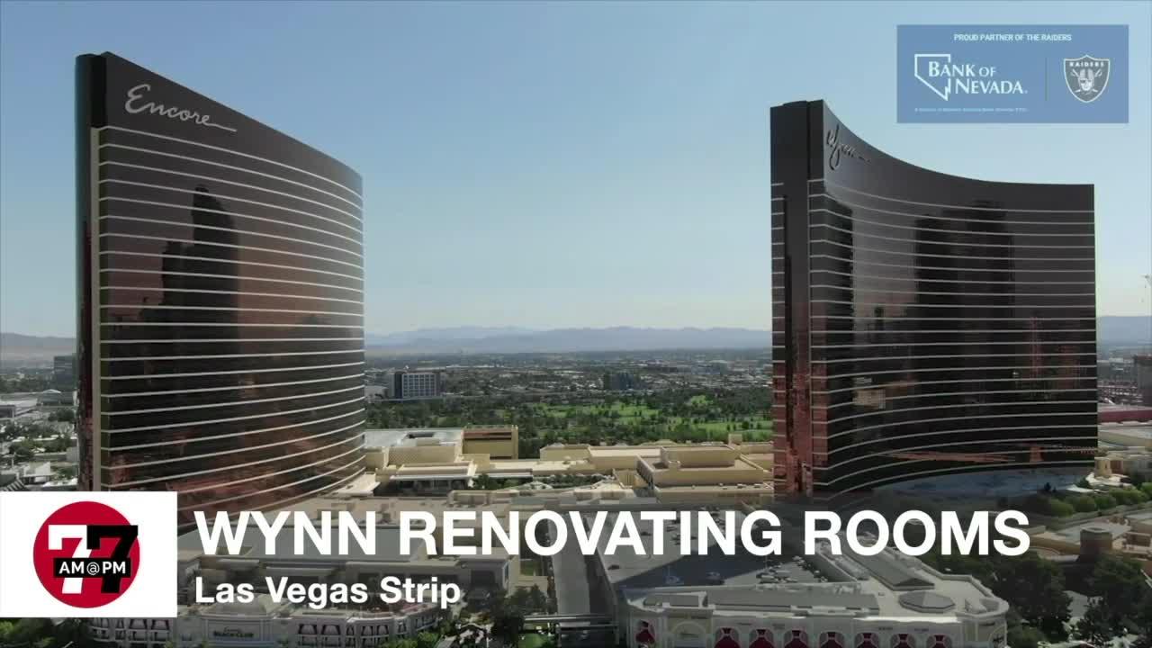 7@7AM Wynn Renovating Rooms