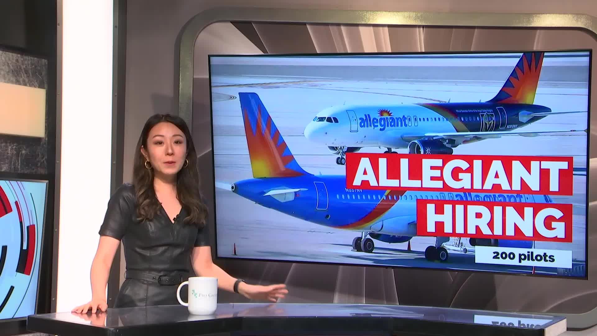 7@7PM Allegiant Hiring Nearly 200 Pilots