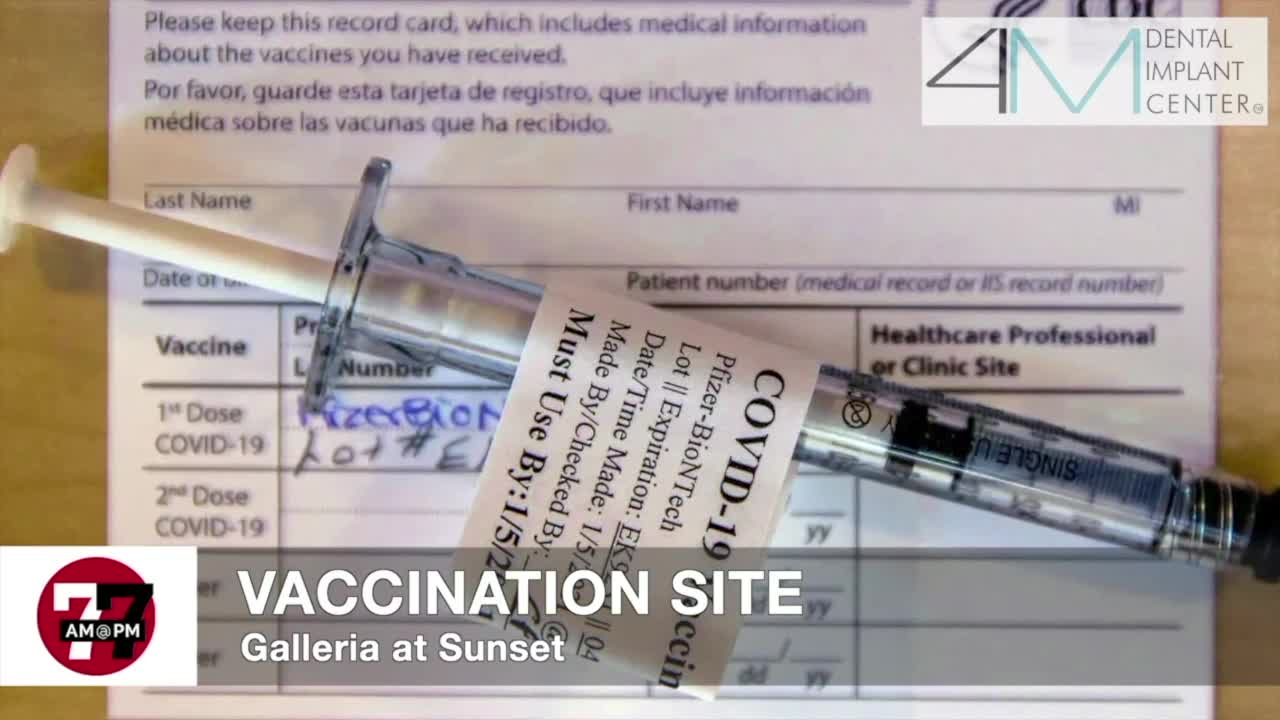 7@7AM Vaccination Site At Galleria Mall