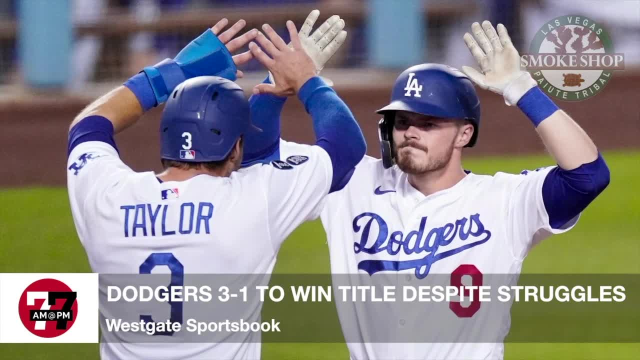 7@7AM Dodgers 3-1 To Win Title