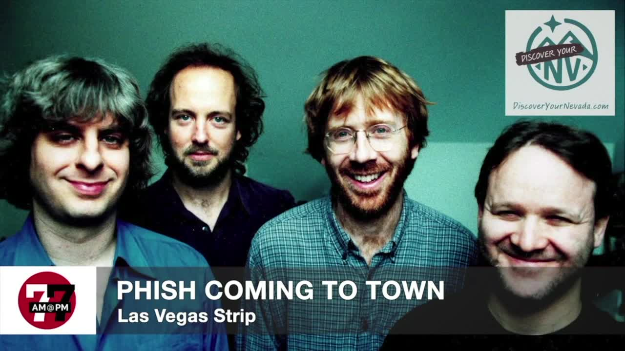 7@7AM Phish Coming To Town