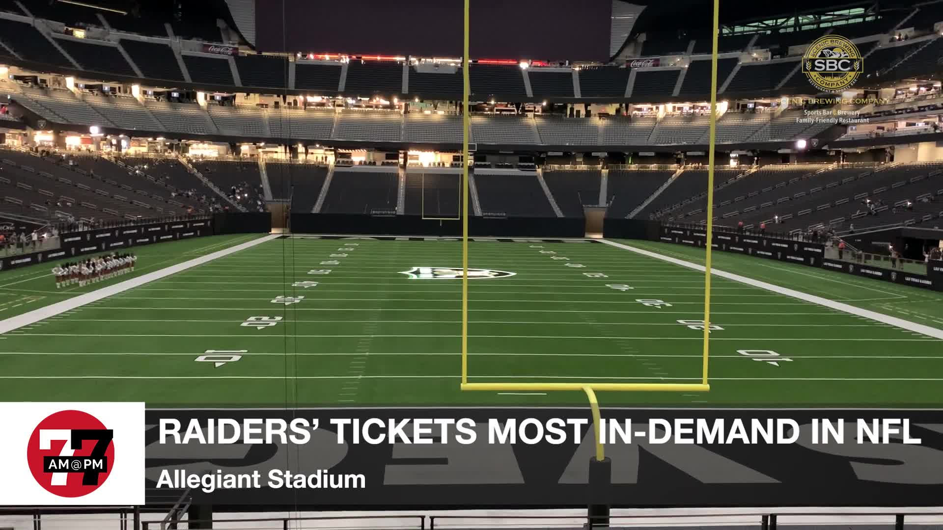 7@7PM Raiders' Tickets Most In-Demand in NFL