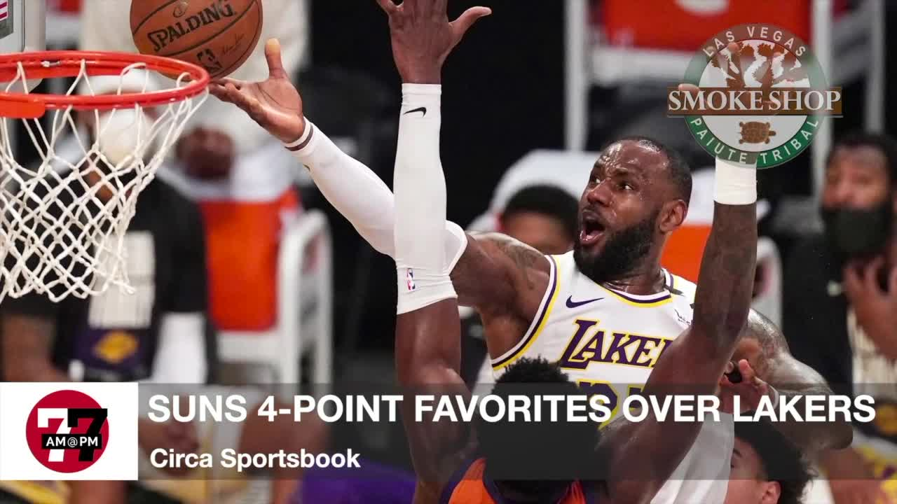 7@7AM Suns Favored Over Lakers