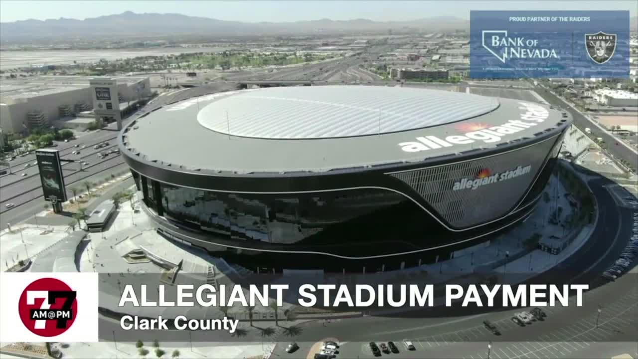 7@7AM Allegiant Stadium Payment