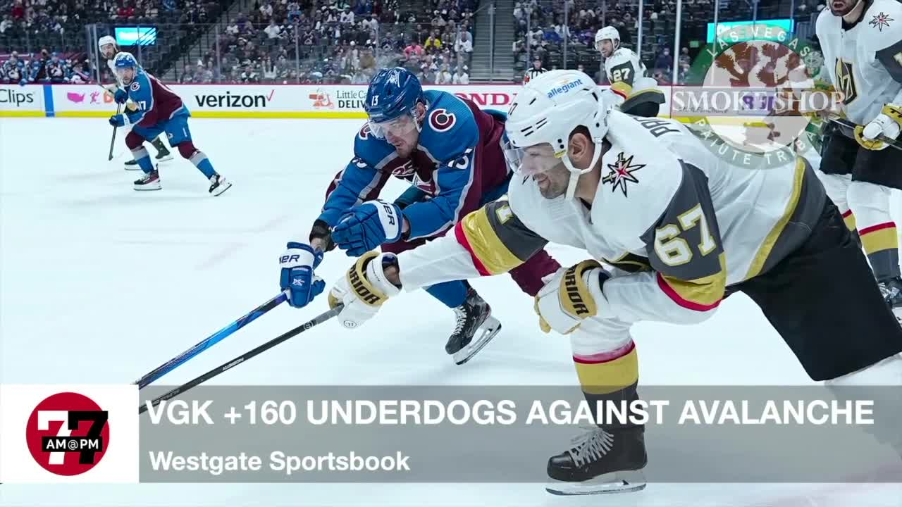 7@7AM Knights +160 Underdogs Against Avalanche