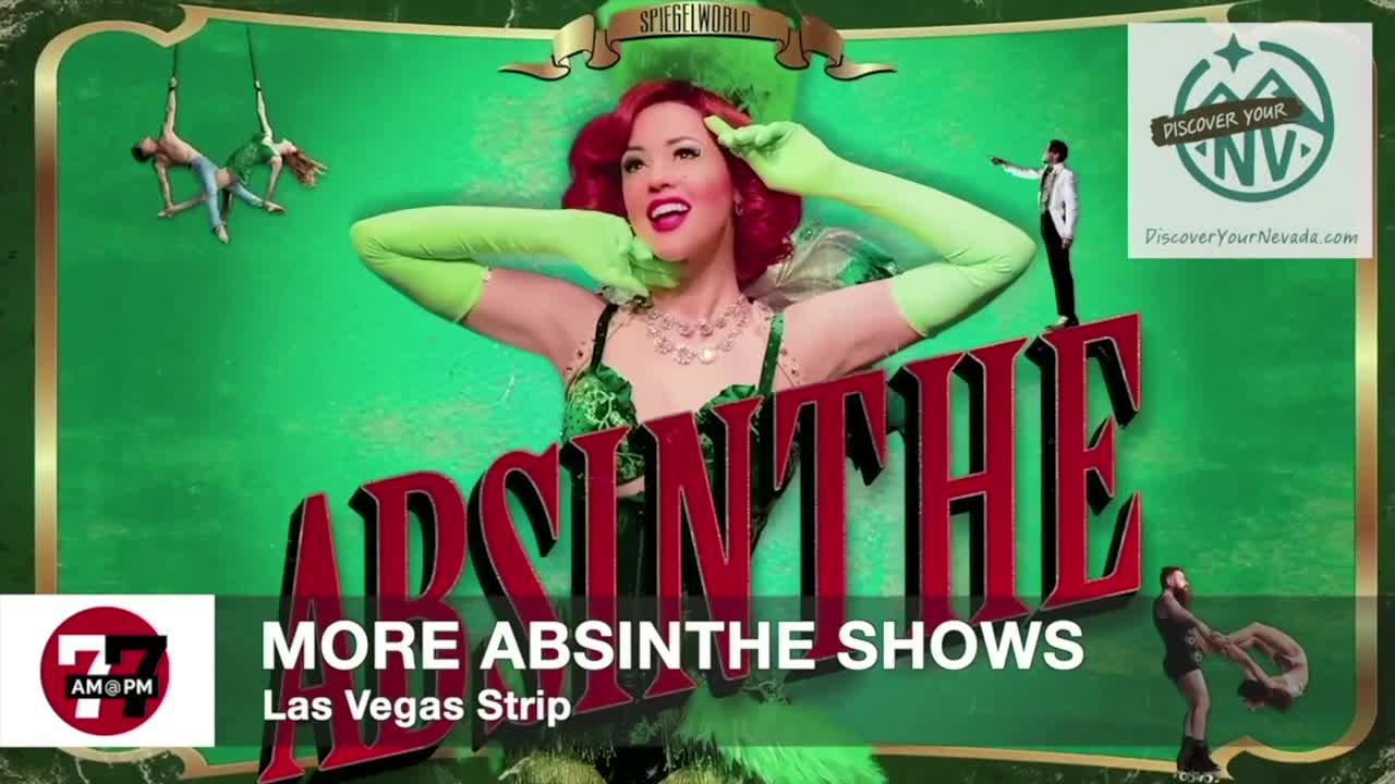 7@7AM More Absinthe Shows