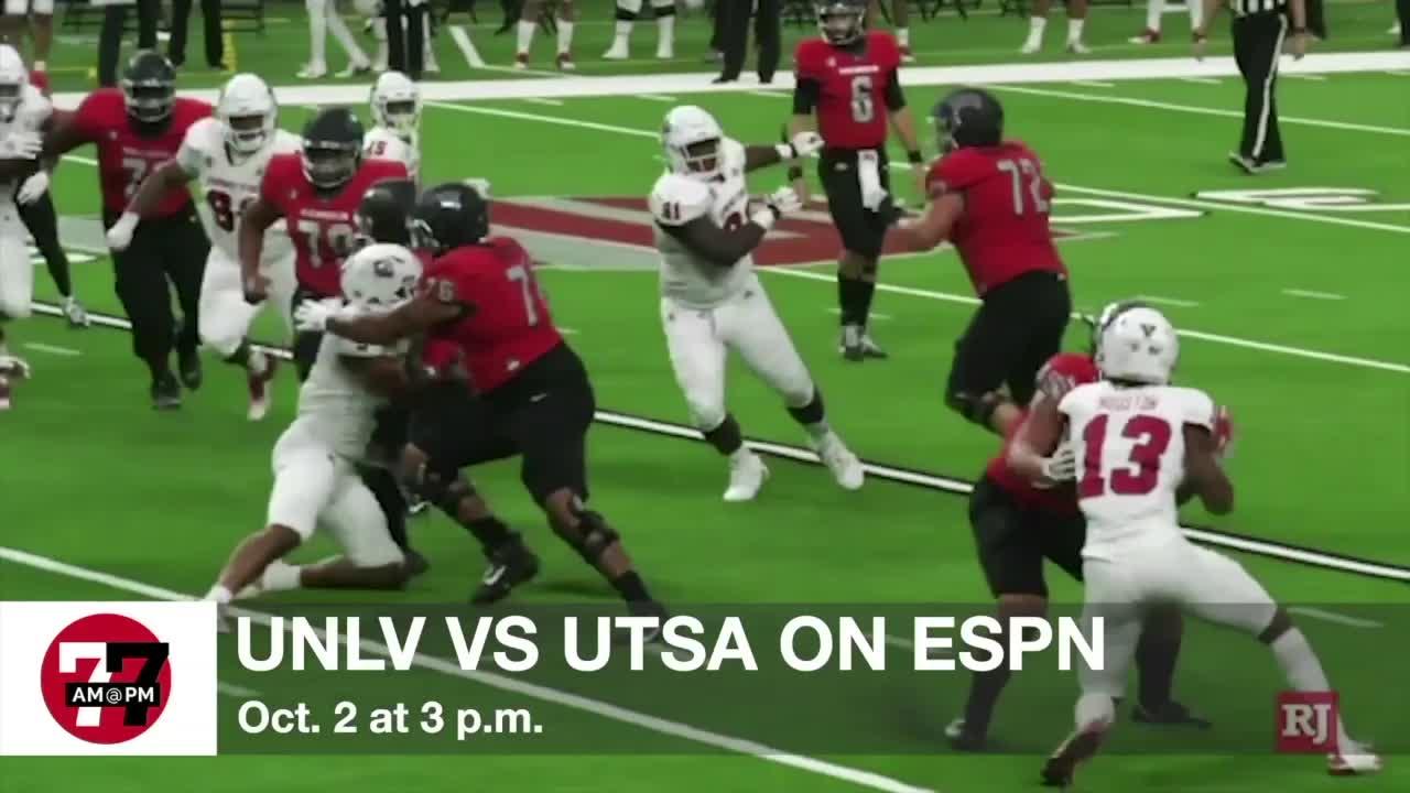 7@7AM UNLV vs UTSA on ESPN