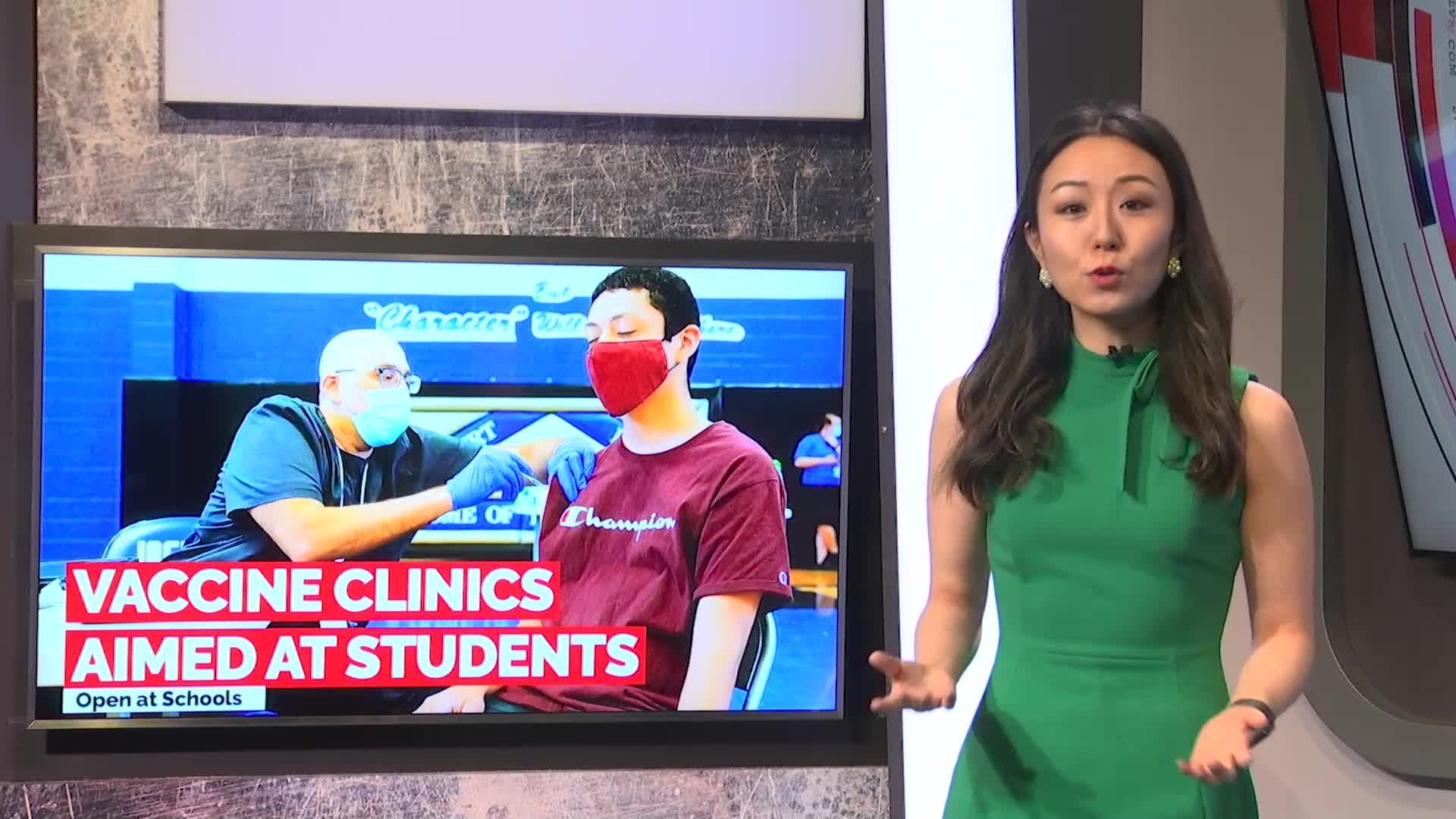 7@7PM Vaccine Clinics Aimed at Students
