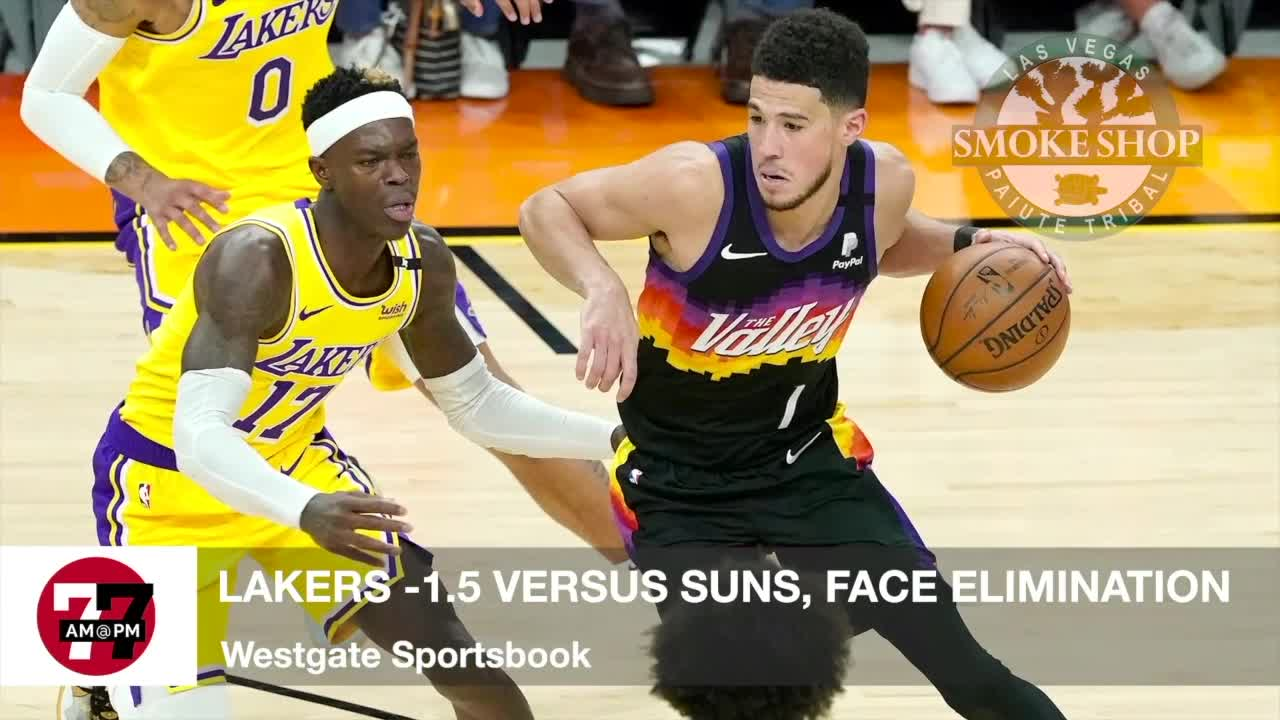 7@7AM Lakers -1.5 Against Suns