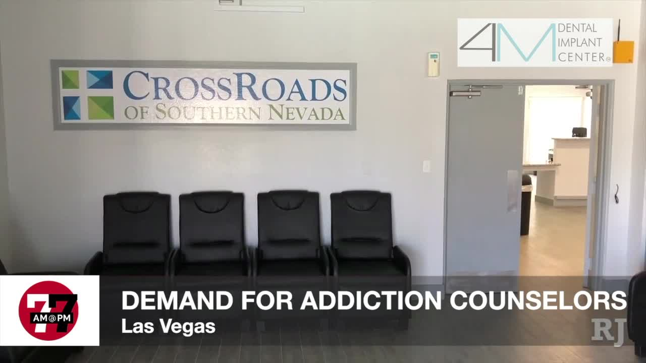 7@7AM Demand for addiction counselors