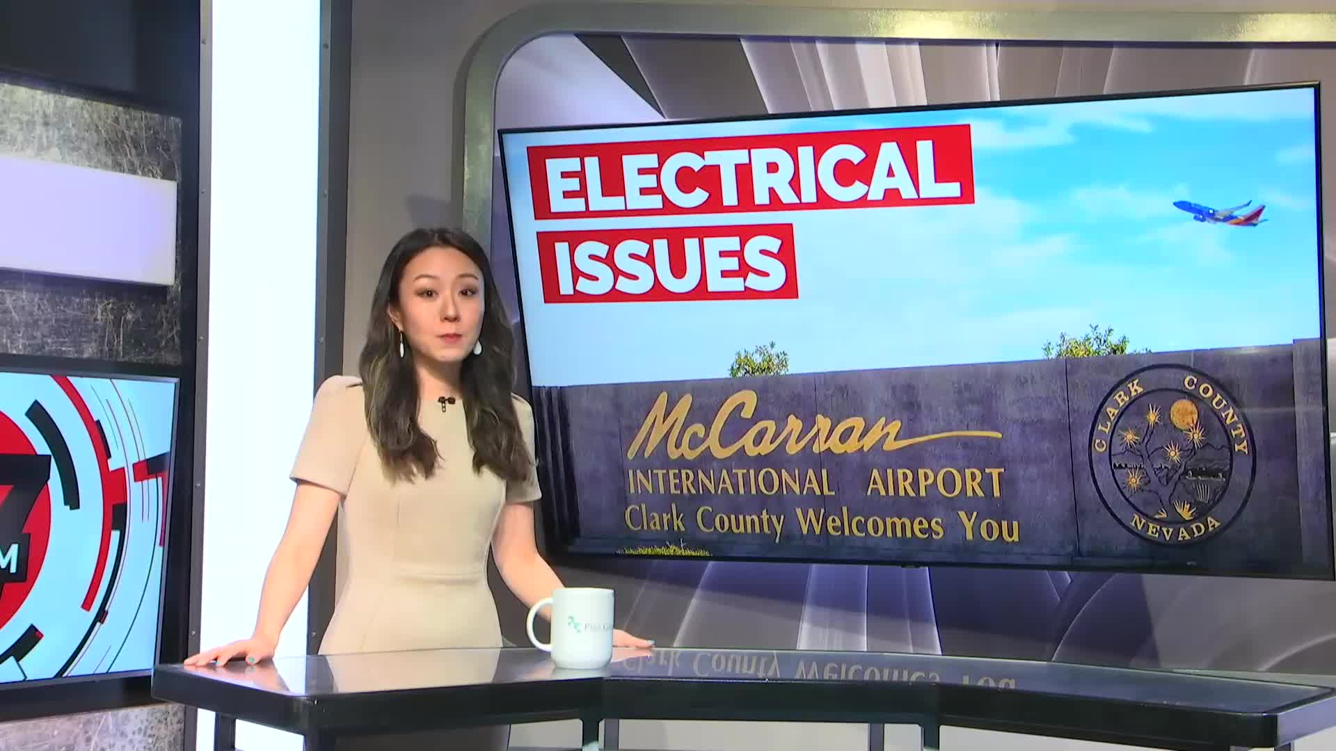 7@7PM Electrical Issues Delay Some Flights