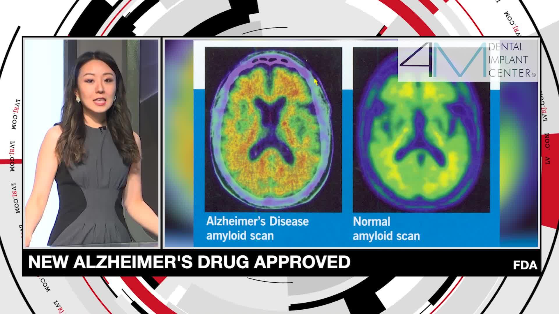 7@7PM New Alzheimer's Drug Approved