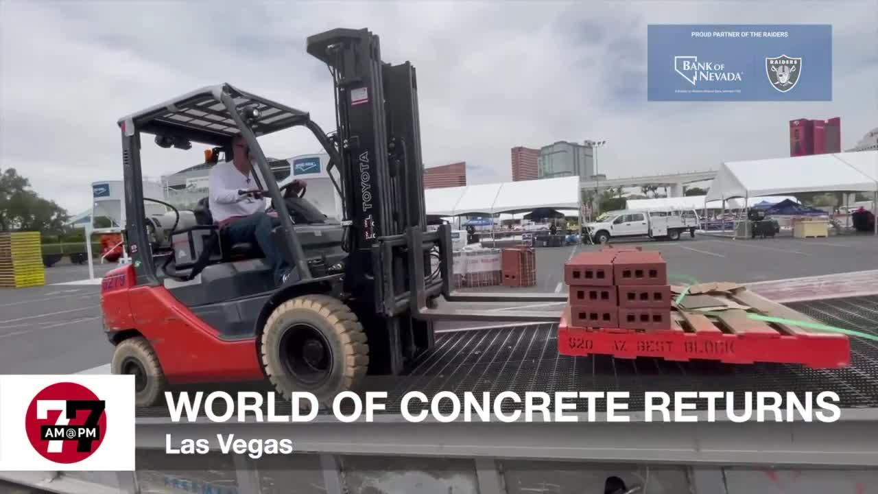 7@7AM World of Concrete Returns