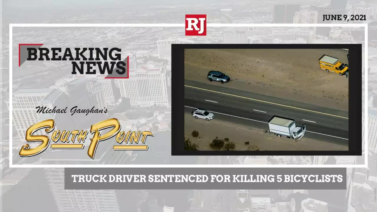 Man who killed five bicyclists receives sentence