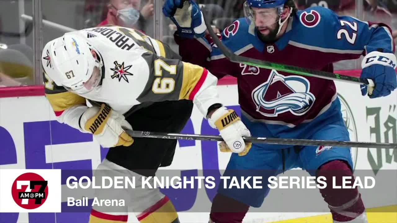 7@7AM Golden Knights take series lead