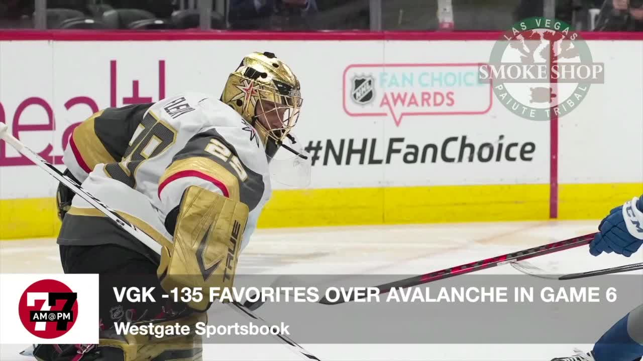 7@7AM Knights -135 Favorites in Game 6