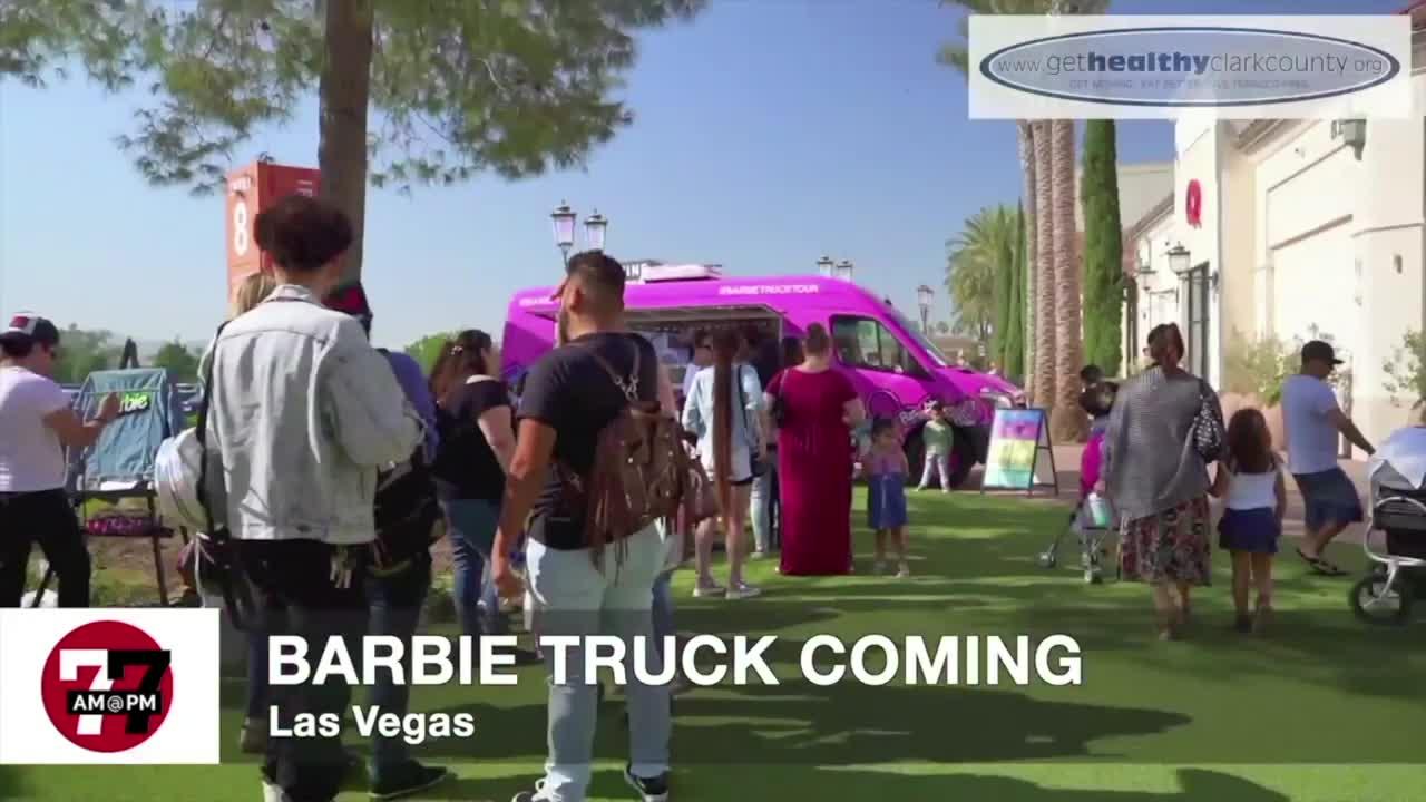 7@7AM Barbie Truck Coming