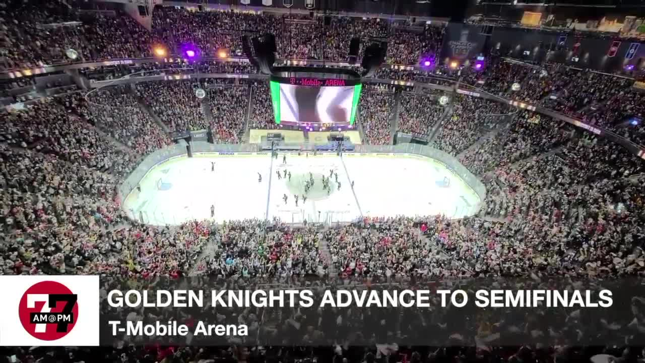 7@7AM Golden Knights advance to semifinals