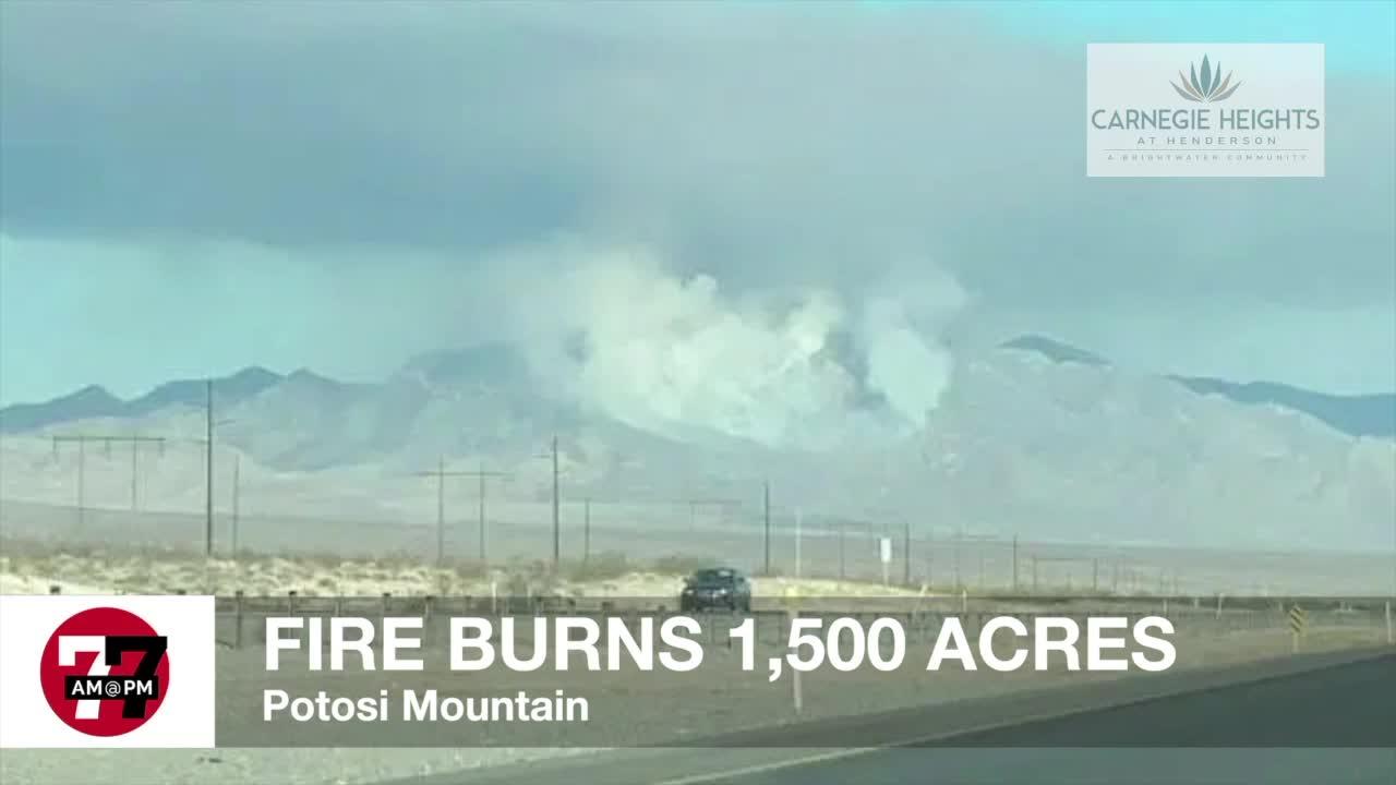 7@7AM Fire Burns 1,500 Acres