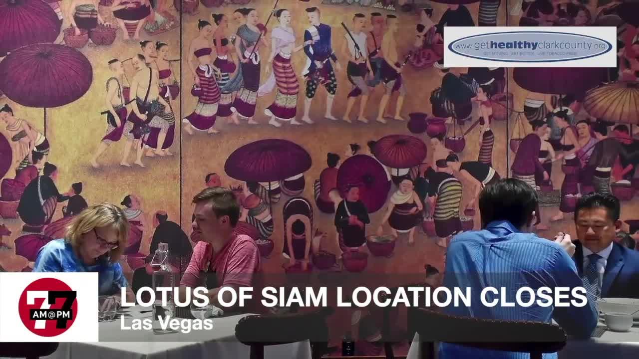 7@7AM Lotus of Siam Closes