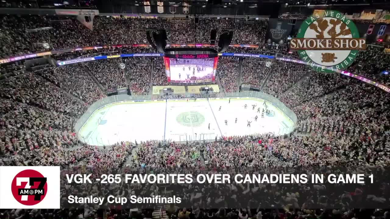7@7AM Knights Favored Over Canadiens in Game 1